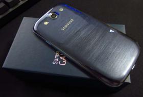 Foto 2 Samsung Galaxy S3 GT-I9300 16GB Pebble Blue Ohne Simlock Smartphone NAVIGON