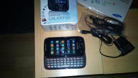 Samsung Galaxy i5510 Smartphone-QWERTZ-Tastatur-Wlan-Neuwertig