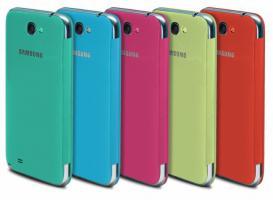 Samsung N7100 Galaxy Note2 Leather CASE/Hülle mit NFC Chip