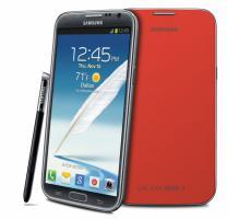 Foto 5 Samsung N7100 Galaxy Note2 Leather CASE/Hülle mit NFC Chip