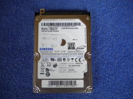 Samsung Netbook 320 GB Festplatte