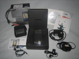 Foto 2 Samsung OMNIA SGH-i900 mit Navigation Route66 DACH Kartenmaterial