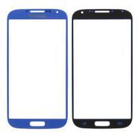 Samsung S4 Ersatzglas Frontscheibe blau