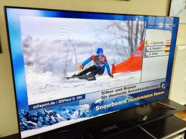 Samsung UE75F6470 190cm 75 LED TV USB PVR WLAN DVB-T DVB-C DVB-S2 EEK A
