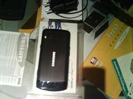 Foto 2 Samsung wave GT S8500 Neuwertig