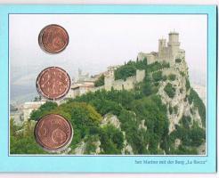 San Marino 1,2, und 5 Euro Cent im Folder ! !