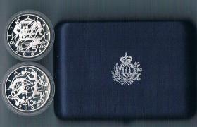 San Marino 5 und 10 Euro Silber Gedenkmünzen '' 2003 '' ! !