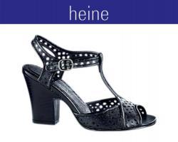 Sandalette, schwarz