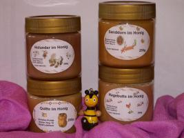 Sanddorn im Honig, geballte Gesundheit im Glas