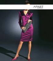 Satin-Kostüm fuchsia von APART - Gr. 32 - OVP - NEU