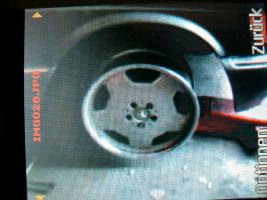 Foto 4 Satz AMG Alufelgen Original!!! Mercedes 8x18 u. 9x18 Bett poliert!!!!!!!!!