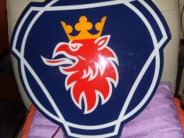 Scania R Reihe Kompletset 16 Teile Blau Mit Logo