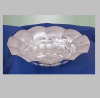 Schale Muschel D22cm, 220 g, Sterling Echtsilber 925