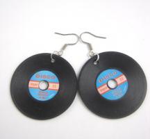 Foto 2 Schallplatten Ohrringe
