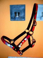Foto 3 Schickes Halfter in Rot mit Herzen Größe VB