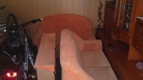 Schickes Zweiteiler Sofa