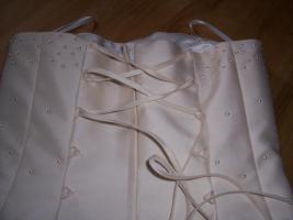 Foto 3 Schickes , elegantes Brautkleid gr.38Champagnerfarbe , 2teilig, Schulterfrei