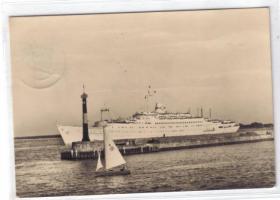 Schiffe -Motive - Postkarten Im CCH  -  17.10.2010