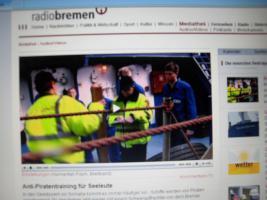 Schiffs Schutzraum Herstellen -  Beratung Schutz vor Piraten Überfällen