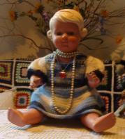 Schildkröt-Puppe!