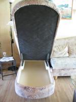 Foto 4 Schlafcouch-Federkern –Ottomane- mit Sessel