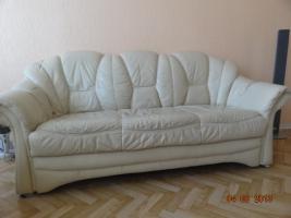 Foto 10 Schlaffzimmer, Küche 3 m mit Garantie-Spühle, 2 Ledersofe (1 Doppel/Schlaf), Flur- und Gartenmöbel