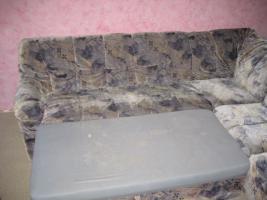 Foto 2 Schlafsofa Ecksofa Couch mit Bettfunktion
