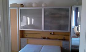 Schlafzimmer in kirsche mit silber Firma Rauch NP 3500DM Preis: 499 EUR VB