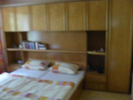 Schlafzimmer m. Bett 220x200