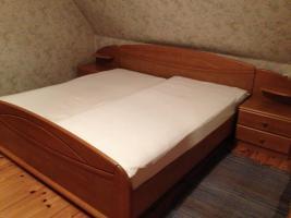Schlafzimmer, buchefarben
