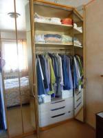 Foto 3 Schlafzimmerschrank ,2 m , mit Spiegeltüren