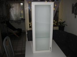 Foto 4 Schlichter Badezimmerh�ngeschrank mit Glast�r ( neuwertig )