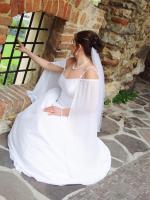 Foto 2 Schlichtes Brautkleid