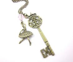 ' Der Schlüssel zum Glück ' Kette