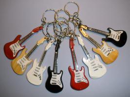 Schlüsselanhänger Stratocaster