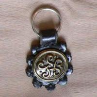 Schlüsselanhänger mit keltischem Knoten