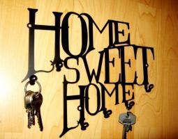Schlüsselbrett HOME SWEET HOME SCHLÜSSELBOARD Key