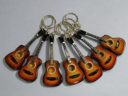 Schlüsselhänger Akustisch Gitarre
