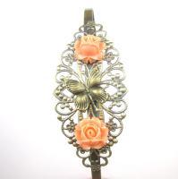 Schmetterling Rosen Haarreif