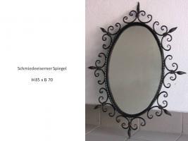 Schmiedeeiserner Spiegel