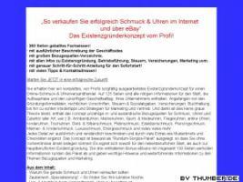 Schmuck & Uhren im Internet und �ber eBay verkaufen