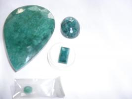 Foto 3 Schmucksteine, Sapihre- Smaragde- Rubine, zum Schnäppchenpreis: