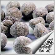 Schnee-Macadamianüsse in Zartbitterschokolade