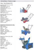 Foto 2 Schneefräsen neuste Modelle 2014 Direktverkauf