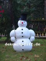 #Schneemann, 125cm  Artikel-Nr.: 7035