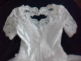 Foto 2 Schneeweisses Brautkleid