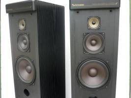 Schneider 3-wege Standboxen- top Zustand und Klang