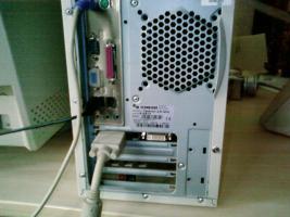 Foto 3 Schneider PC  + Daewoo Monitor