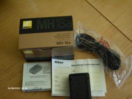 Schnelladegerät Nikon MH-18a Neu originalverpackt