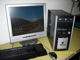 Schneller PC f. Home/Office 1,6GHz 2GB 80HDD DVD/RW CR, 256MB Grafik Win7/8